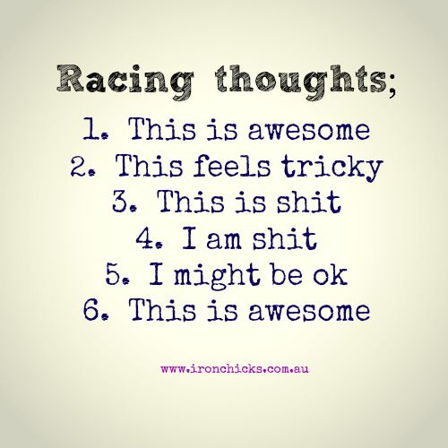 Race thoughts quote