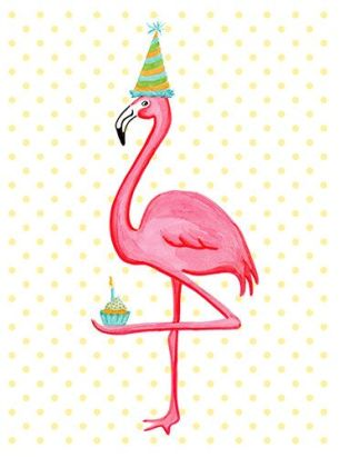 bday flamingo