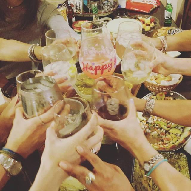 celebrate drinks