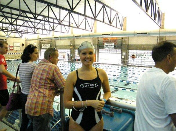 first tri swim