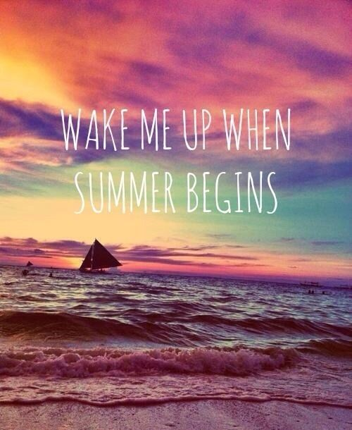 summer begins quote