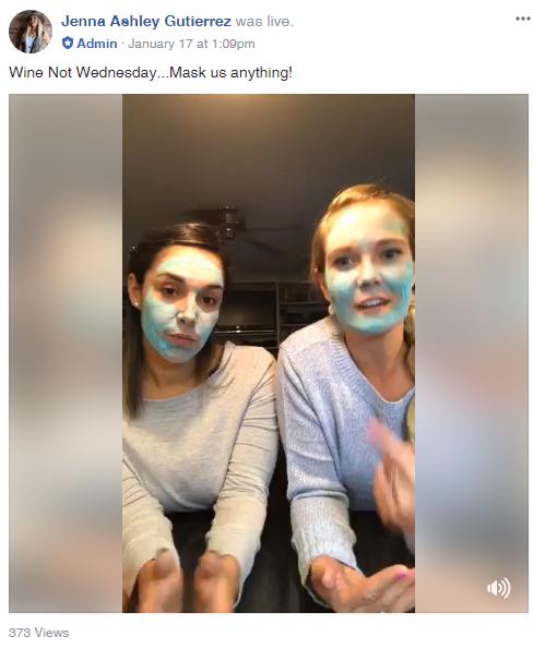 fb live mask